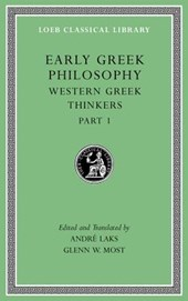 Early Greek Philosophy, Volume IV - Western Greek Thinkers, Part