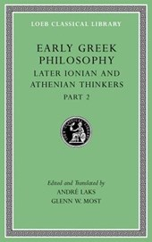Early Greek Philosophy, Volume VII - Later Ionian and Athenian Thinkers, Part