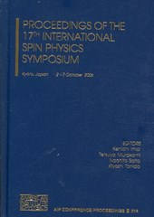 Proceedings of the 17th International Spin Physics Symposium