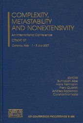 Complexity, Metastability, and Nonextensivity