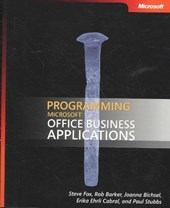 Programming Microsoft Office Business Applications