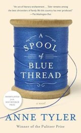 Spool of blue thread | Anne Tyler |
