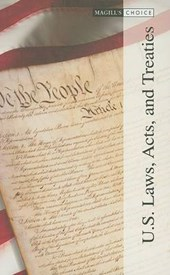 U.S. Laws, Acts, and Treaties.