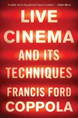 Live Cinema and Its Techniques | Francis Ford Coppola | 9781631494543