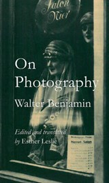 On photography | Walter Benjamin |