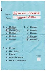 Multiple Choice | Alejandro Zambra | 9781783782697