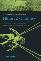 History and Obstinacy | Alexander Kluge | 9781935408468