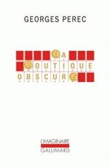 La boutique obscure | Georges Perec | 9782070131815