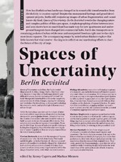 Spaces of Uncertainty - Berlin revisited | Markus Cupers | 9783035614398