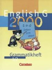 English G 2000. Ausgabe A/B/D 1/2. Grammatikheft