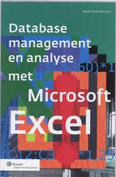 Database management en analyses met Microsoft Excel