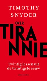 Over tirannie | Timothy Snyder | 9789026340062