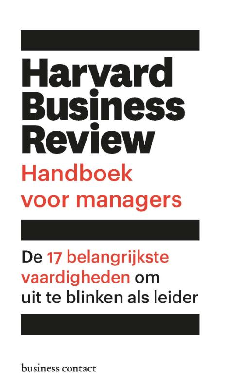 Harvard Business Review handboek voor managers | Harvard Business Review | 9789047011125