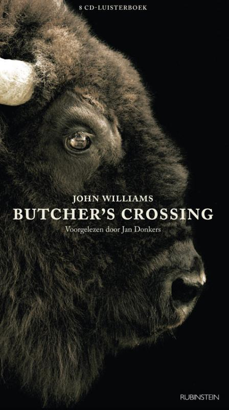 Butcher's crossing, 8 cd's, voorgelezen door Jan Donkers | John Williams |