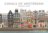 The canals of Amsterdam - House by house | Brian Delf ; Leonoor van Oosterzee | 9789059375437