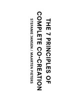 The 7 principles of complete co-creation | Stefanie Jansen ; Maarten Pieters | 9789063694739
