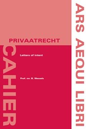 Ars Aequi Cahiers - Privaatrecht Letters of intent