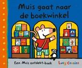 Muis gaat naar de boekwinkel
