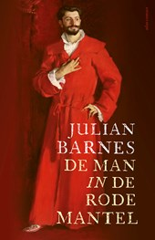 De man in de rode mantel