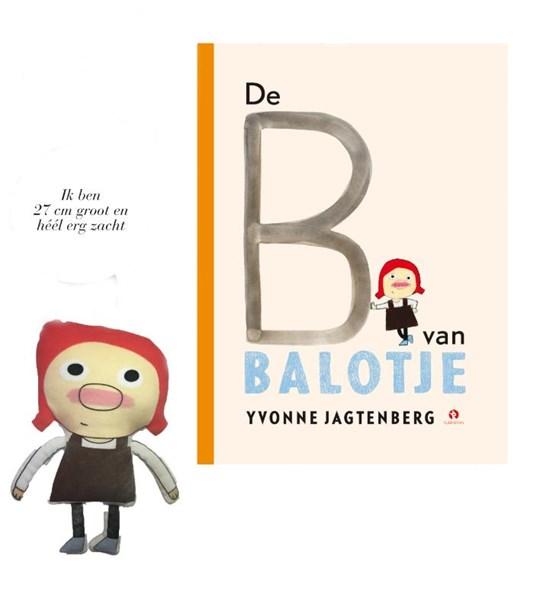 Pop Balotje + Prentenboek De B van Balotje
