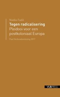 Tegen radicalisering   Nadia Fadil  