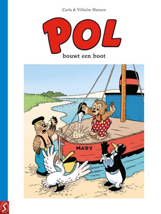 Pol bouwt een boot