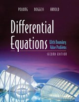 Differential Equations With Boundary Value Problems | John C. Polking & Albert Boggess & David Arnold |