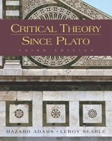 Critical Theory Since Plato | Hazard Adams & Leroy Searle |
