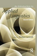 An Introduction to Applied Linguistics | Norbert Schmitt |