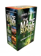 Maze runner series box set (book 1-4) | James Dashner |