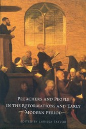 Preachers and People in the Reformations and Early Modern Period