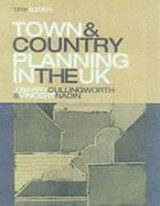 Town and Country Planning in the UK | Barry Cullingworth |