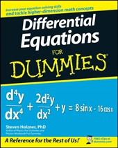 Differential Equations For Dummies | Steven Holzner |