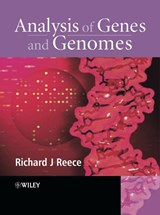 Analysis of Genes and Genomes | Richard J. Reece |