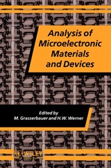 Analysis of Microelectronic Materials and Devices | M. Grasserbauer |