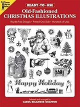 Ready-To-Use Old-Fashioned Christmas Illustrations | Carol Belanger Grafton |