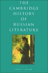 The Cambridge History of Russian Literature | Charles A. Moser |