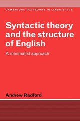 Syntactic Theory and the Structure of English | Andrew Radford |