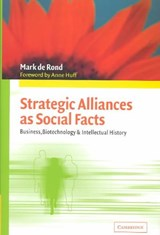 Strategic Alliances as Social Facts | Mark de Rond |