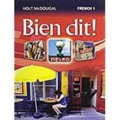 Bien Dit!, French
