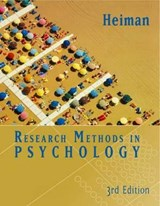 Research Methods in Psychology | Gary W Heiman |