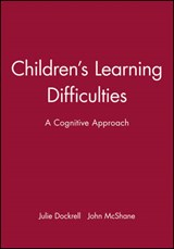 Children's Learning Difficulties | Julie Dockrell |