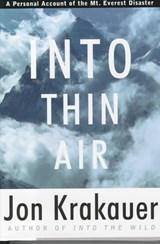 Into Thin Air | Jon Krakauer |