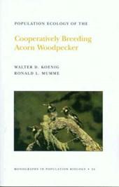 Population Ecology of the Cooperatively Breeding Acorn Woodpecker. (MPB-24), Volume 24