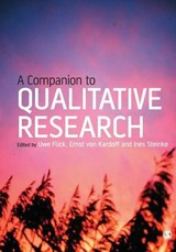 Companion to Qualitative Research | Uwe Flick |