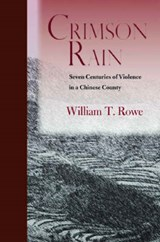 Crimson Rain | William T. Rowe |