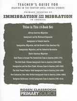 Primary Sources of Immigration and Migration in America | auteur onbekend |