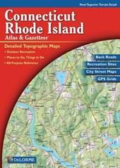 Delorme Connecticut and Rhode Island Atlas & Gazetteer