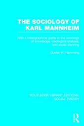 The Sociology of Karl Mannheim
