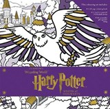 Harry potter: winter at hogwarts: magical colouring set |  |